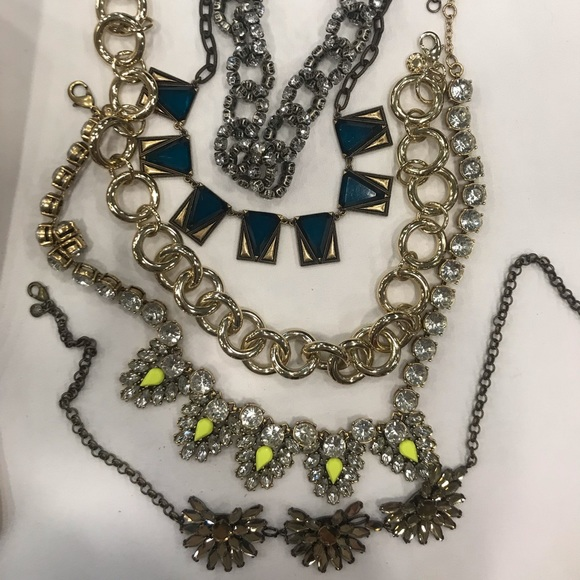 J. Crew Jewelry - Lot of jcrew necklaces